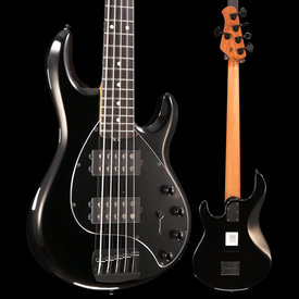 Ernie Ball Ernie Ball Music Man StingRay Special 5HH, Ebony Fingerboard, Jet Black S/N F78943 8lbs 14.6oz