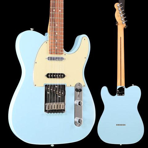 Deluxe Nashville Telecaster, Pau Ferro Fingerboard, Daphne Blue S/N MX19014761 8lbs 7oz