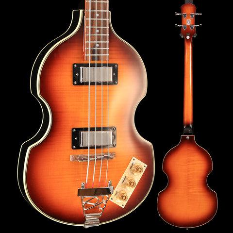 Epiphone EBVIVSCH1 Viola Bass Vintage Sunburst S/N 18121506610 7lbs 4.4oz