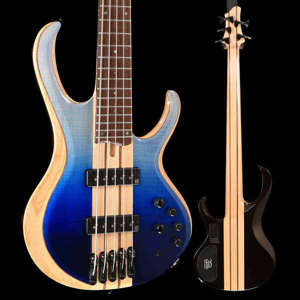 Ibanez Ibanez BTB20TH5BRL BTB 20th Anniversary 5str Electric Bass - Blue Reef Gradation Low Gloss S/N 190216241 9lbs 4.2oz