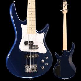 "Ibanez Ibanez SRMD200SBM SR Mezzo 4str Electric Bass - 32"" Medium Scale - Sapphire Blue Metallic S/N 190204177 7lbs 1.5oz"