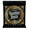 2568 Ernie Ball Aluminum Bronze Acoustic Strings .011-.052 Light