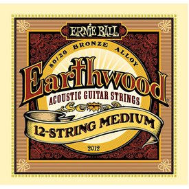Ernie Ball 2012 Ernie Ball Earthwood 80/20 Bronze 12-String Medium