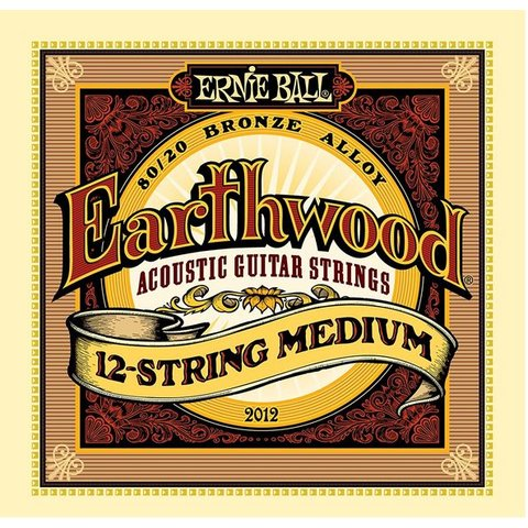 2012 Ernie Ball Earthwood 80/20 Bronze 12-String Medium
