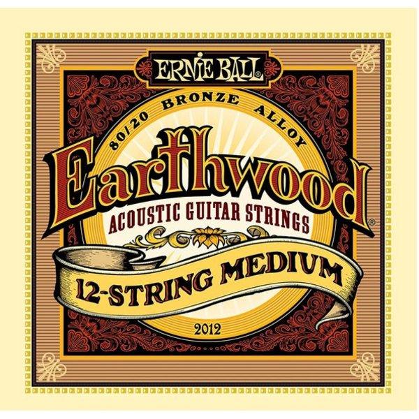 Ernie Ball 2012 Ernie Ball Earthwood 80/20 Bronze 12-String Medium