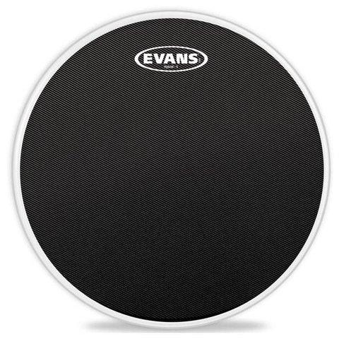 Evans Hybrid-S Black Marching Snare Drum Head, 14 Inch