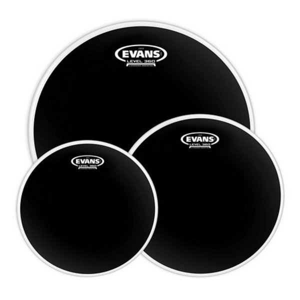 Evans Evans Onyx 2-Ply Tompack Coated, Rock (10 inch, 12 inch, 16 inch)