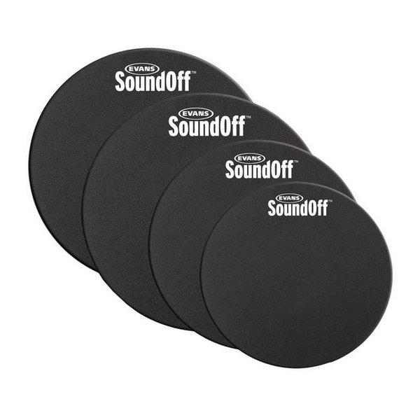 Evans SoundOff by Evans Drum Mute Pak, Standard (12,13,14,16)