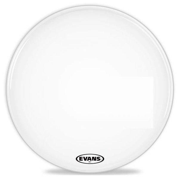 Evans Evans MX1 White Marching Bass Drum Head