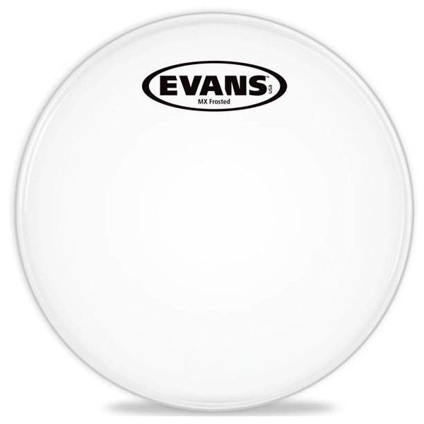 Evans Evans MX Frost Marching Tenor Drum Head