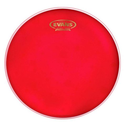 Evans Hydraulic Red Bass Drum Head, 22 Inch