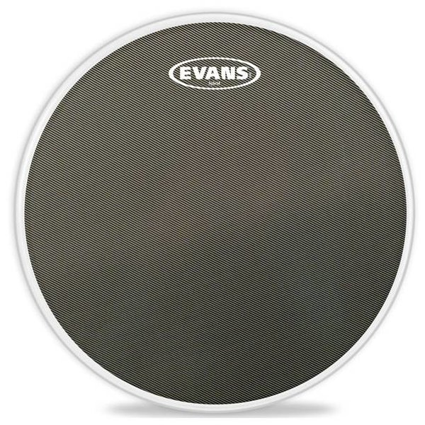 Evans Evans Hybrid Grey Marching Snare Drum Head, 14 Inch
