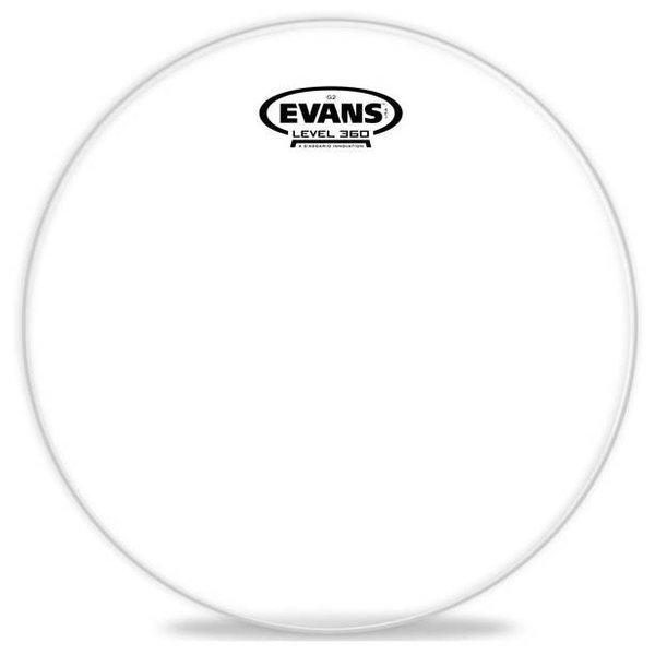 Evans Evans G2 Clear Bass Drum Head, 22 Inch