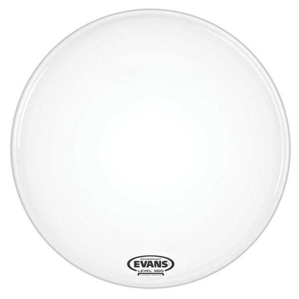Evans Evans EQ3 Resonant Smooth White Bass Drum Head, No Port, 20 Inch