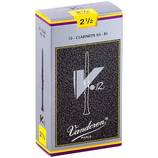 Vandoren Vandoren 10 V12 Bb Clarinet Reeds Strength 2.5