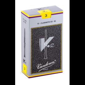Vandoren Vandoren 10 V12 Bb Clarinet Reeds Strength 3