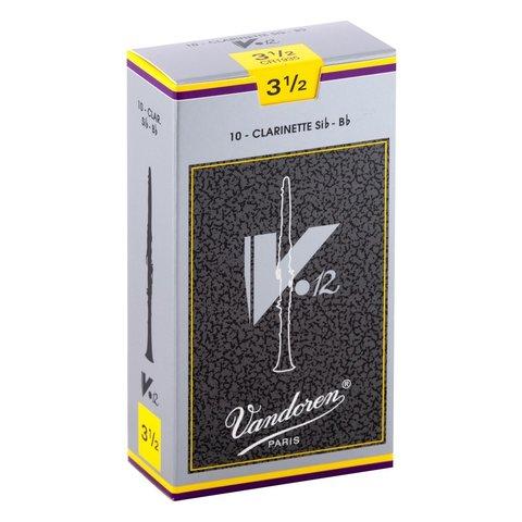 Vandoren 10 V12 Bb Clarinet Reeds Strength 3.5