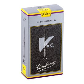 Vandoren Vandoren 10 V12 Bb Clarinet Reeds Strength 3.5+