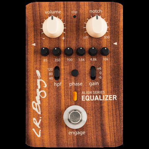 L.R. Baggs Align Series Acoustic EQ Pedal