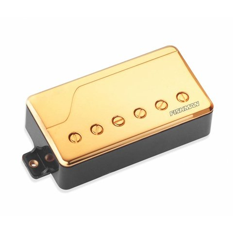 Fishman PRF-CHB-BG1 Fluence Classic Humbucker, Bridge, Gold