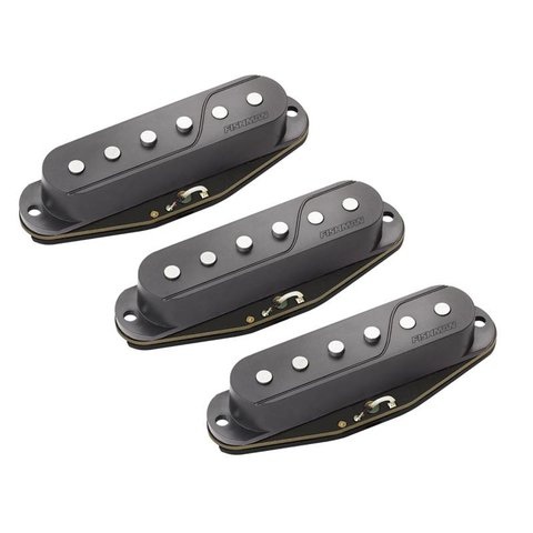 Fishman PRF-STR-BK3 Fluence Single Width Pickups for Strat, Set of 3, Black