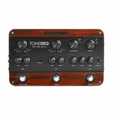 Fishman PRO-DEQ-AFX ToneDeq AFX Preamp, EQ and DI with Dual Effects