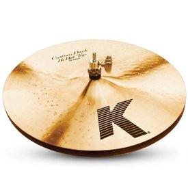 "Zildjian Zildjian K0943 14"" K Custom Dark Hi Hat Pair"