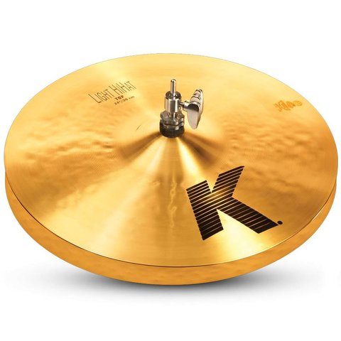"Zildjian K0814 14"" K Light Hi Hat - Bottom"