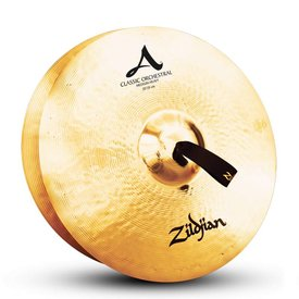 "Zildjian Zildjian A0769 20"" Classic Orchestral Selection Med Heavy Pair"