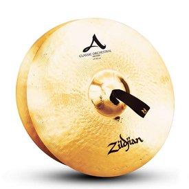 """Zildjian Zildjian A0781 17"""" Classic Orchestral Selection Medium Pair"""