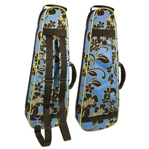 Lanikai FHB-S Floral Pattern Soprano Heavy Duty Ukulele Case 21