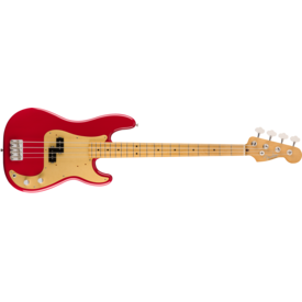 Fender Vintera '50s Precision Bass®, Maple Fingerboard, Dakota Red