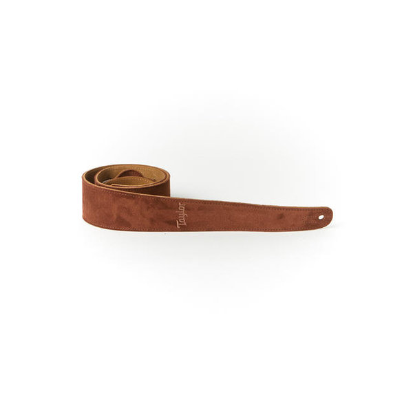 Taylor Taylor TS250-05 Strap, Embroidered Suede, Chocolate 2.5""