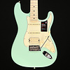 Fender American Performer Strat HSS, Maple Fingerboard, Satin Surf Green S/N US19047928 7lbs 13.1oz