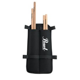 Pearl Pearl MSB2 Marching Stick Bag Black, Holds 2 Pr of Sticks
