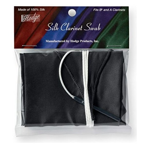 Gem Black Clarinet Silk Swab