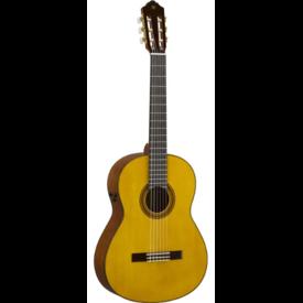 Yamaha Yamaha CG-TA TransAcoustic Nylon String - Natural Gloss S/N HPL060277
