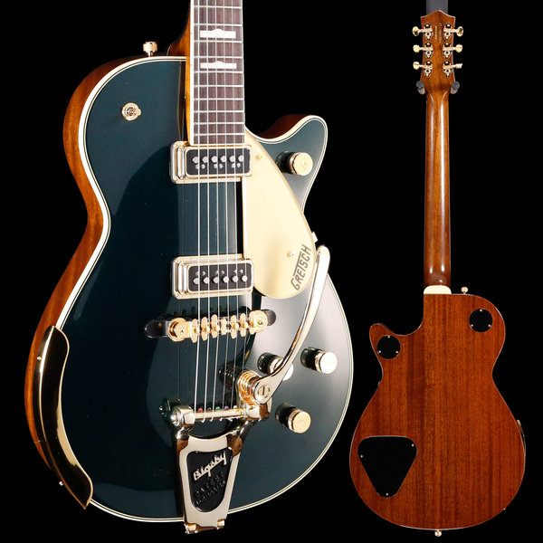Gretsch Guitars Gretsch G6128T-57 Vintage Select Duo Jet Cadillac Green W/ Case S/N JT19041504