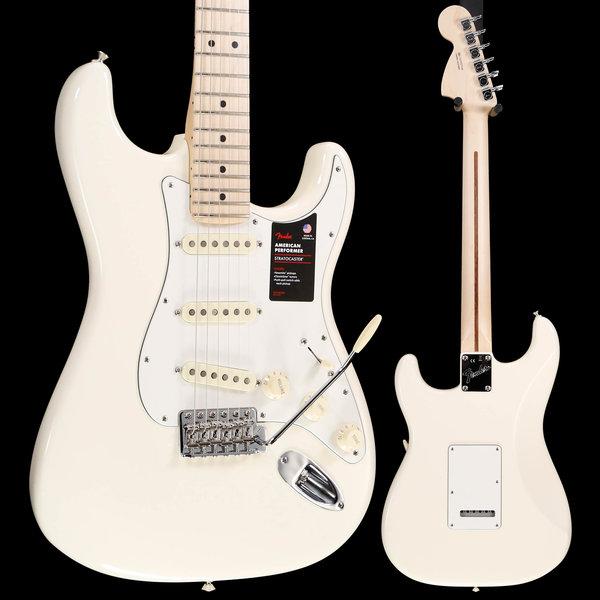 Fender Fender Ltd Ed American Performer Stratocaster Olymp White US19035300 7lbs 14.8oz