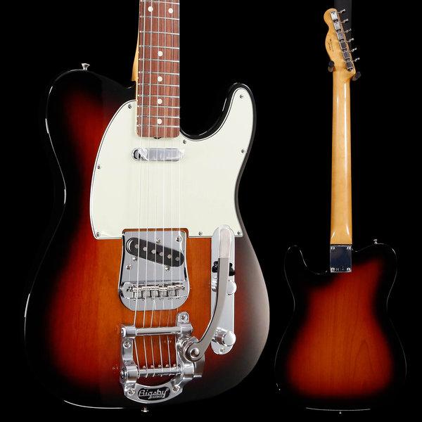 Fender Vintera '60s Telecaster® Bigsby, Pau Ferro Fingerboard, 3-Color Sunburst S/N MX19031597 8lbs 7.8oz