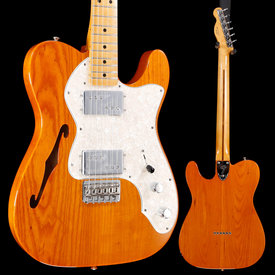 Fender Vintera '70s Telecaster® Thinline, Maple Fingerboard, Aged Natural S/N MX19039696 7lbs 10.4oz