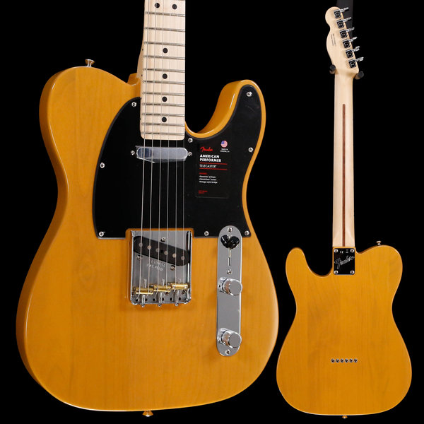 Fender Ltd. Ed. American Performer Telecaster, Maple Neck, BTB S/N US19048817 7lbs 7.4oz