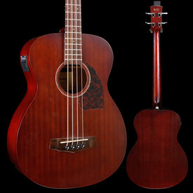 Ibanez Ibanez PCBE12MHOPN WITH HARD CASE! Performance Grand Concert Acoustic Bass Open Pore Mahogany S/N SA151003332 5lbs 4.3oz