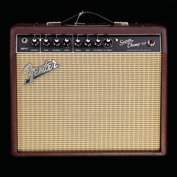 Fender Super Champ X2, 120V - Ox Blood Finish