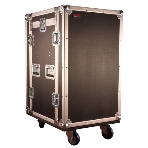 Gator G-TOUR 10X14 PU 10U Top, 14U Side Audio Road Rack Case