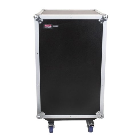 Gator G-TOUR 10X12 PU 10U Top, 12U Side Audio Road Rack Case