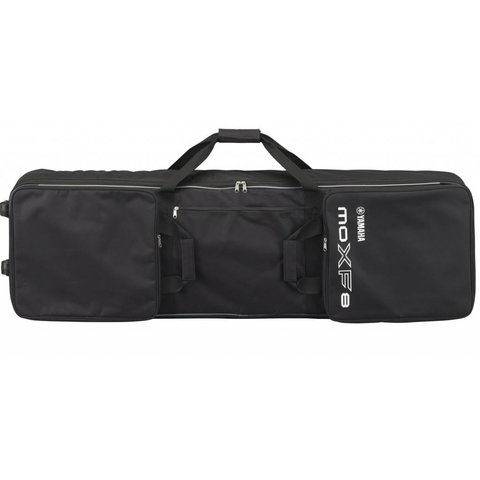 Yamaha MOXF8 BAG Zippered Padded Bag w/ Wheels Handles & 3 Pockets for Pedals, Cables & Accessories