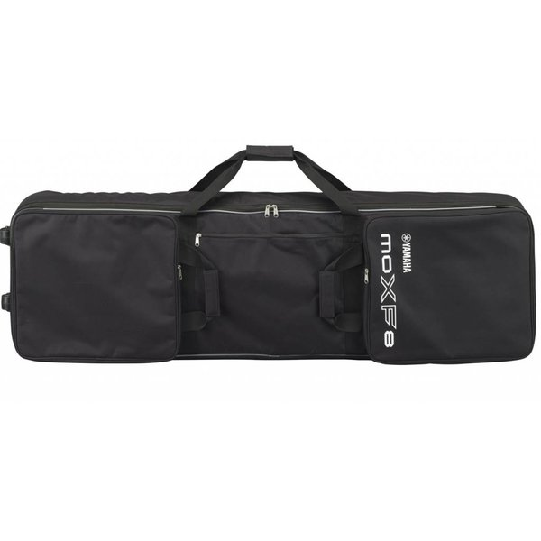 Yamaha Yamaha MOXF8 BAG Zippered Padded Bag w/ Wheels Handles & 3 Pockets for Pedals, Cables & Accessories