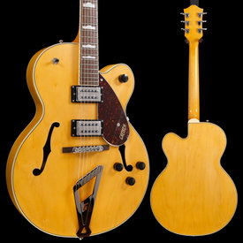 Gretsch Guitars Gretsch G2420 Streamliner Hollow Body w/ Chromatic II, Laurel FB, Village Amber S/N IS190502011 6lbs 5.6oz