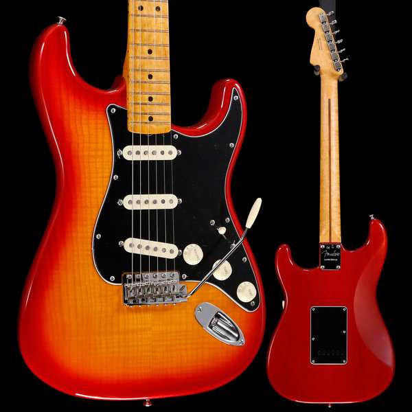 Fender Fender Rarities Flame Top Strat w Birdseye Plasma Red Burst US19036386 8lbs 2oz